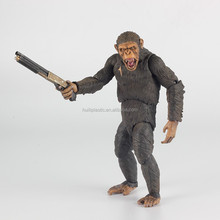pvc action figure, custom made product action figure, big gorilla anime pvc figure for collection