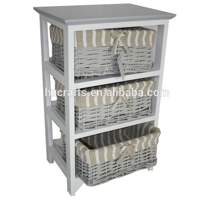very cheap china bedroom furniture rattan wood cabinet