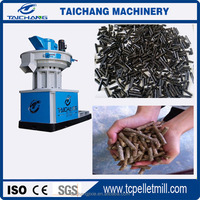Automatic Farm Rice Wheat Straw Fuel Wood Pellet Machine Mill