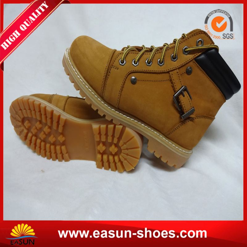 Safety Shoes Price Safety Boots Nubuck Leather from China Supplier