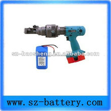 steel bar cutter rechargeable 18v battery pack