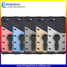 Anti-Drop 360 rotating Kick stand phone case for iPhone 7 /Shockproof hybrid case for iPhone 7