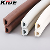 epdm window and door adhesive backed foam rubber weather strip