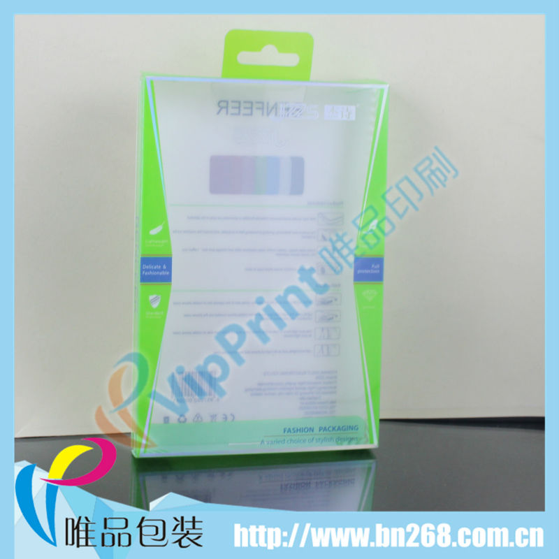 Plastic clear pvc box for ipad mini case made in china