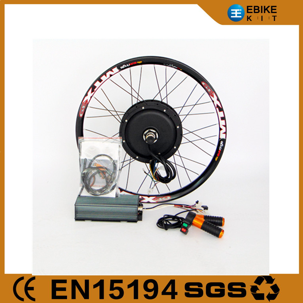 Factory Outlets, CE, Two warranty 120km/h 140N.M 72V 5000W electric motorcycle conversion kit