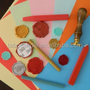 Custom luxury Christmas wax seal sticker