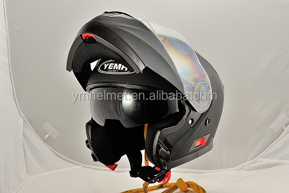 YM-926 New Double visor Flip-up Motorcycle Helmet with ECE & DOT