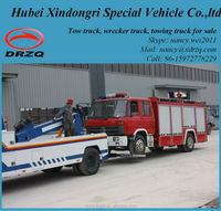 dongfeng big tow trucks for sale, under lift wrecker truck
