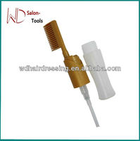 hair dye comb with dye bottle
