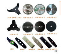 manganese steel material brush cutter blade for grass and shrubs