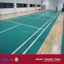 anti-static pvc flooring badminton vinyl flooring