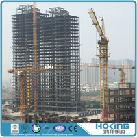 Customized Design and High Strength Prefabricated High Steel Structure Building for Office