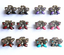 New Style Women Girl Mini Claw Hair Clips with Rhinestones