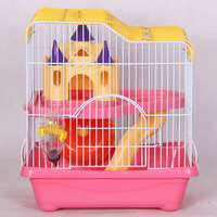 Wholesale Pet Hamster Cages High-grade Metal Wire Small Luxury Hamster Accessories