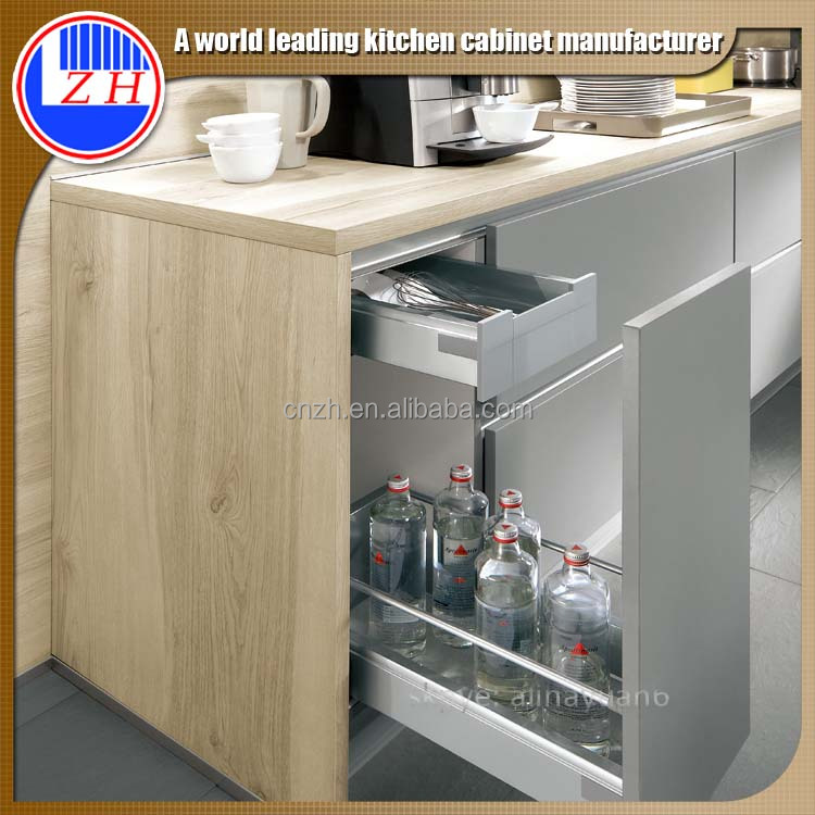 Zhihua modern lacquer cheap price america design finished for Acrylic kitchen cabinets cost