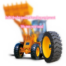 Hot sale solid cushion off road tyres, heavy duty mini wheel loader tires 20.5-25