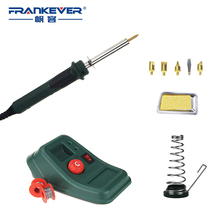 FRANKEVER professional electric soldering iron kit woodburning pen Interchangeable head for soldering iron