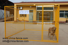 wholesale Large outdoor powder coating pet display cage/commercial dog cage/enclosure for dog