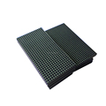 P10 outdoor single green color ,green color led module .P10 outdoor green