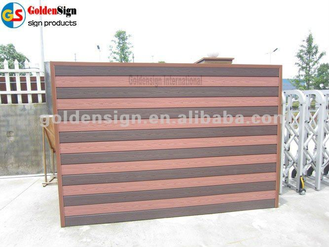 Goldensign Outdoor Wood-Plastic Composite Decking Boards