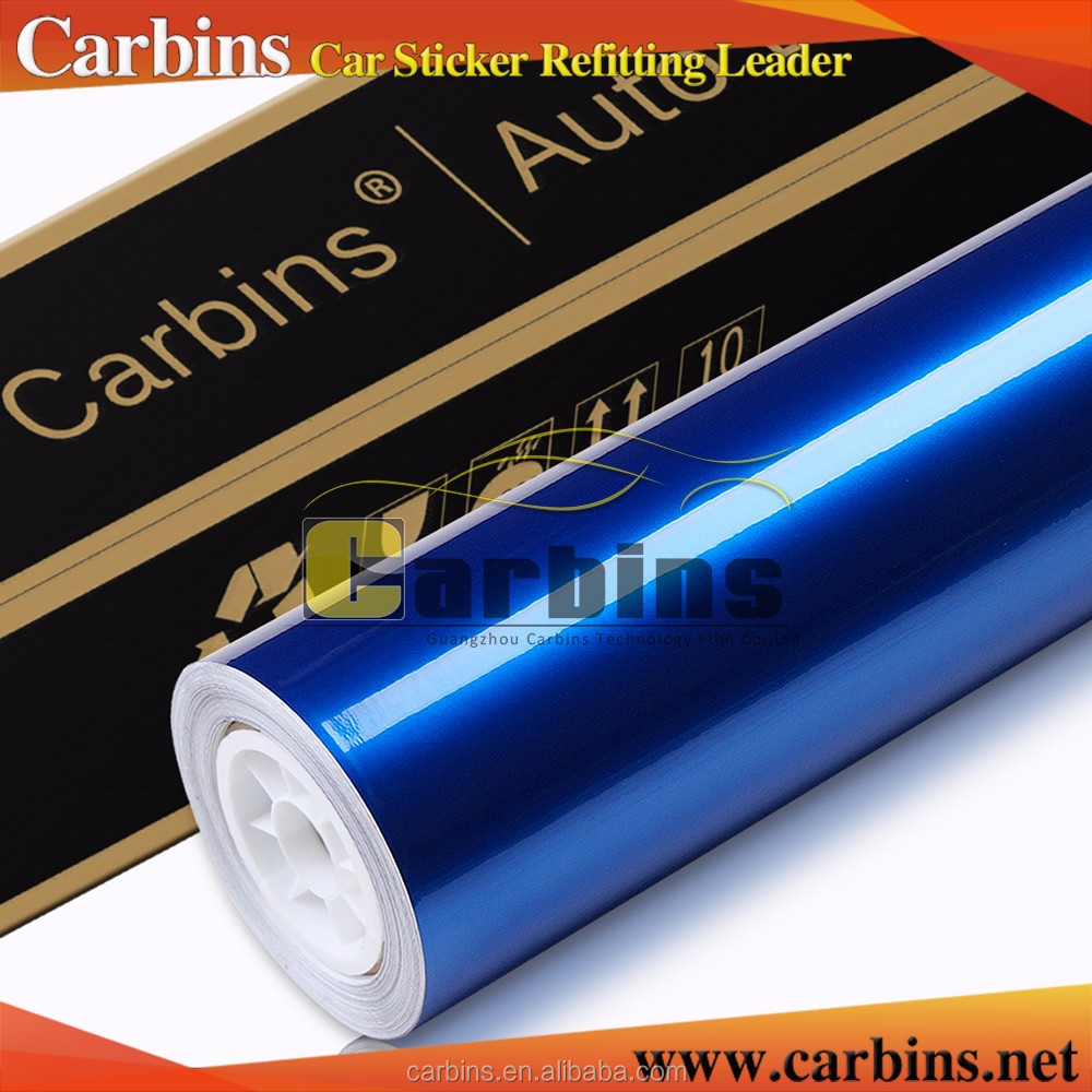 New arrival Carbins glossy metallic pear vinyl high stretch pvc vinyl wrap for cars