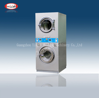 2016 Popular coin washing machine , washer and dryer for laundry shop