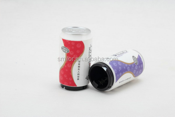 China Supplier Can-Shaped Heat Transfer Metal Automatic Beer Anchor Bottle Opener