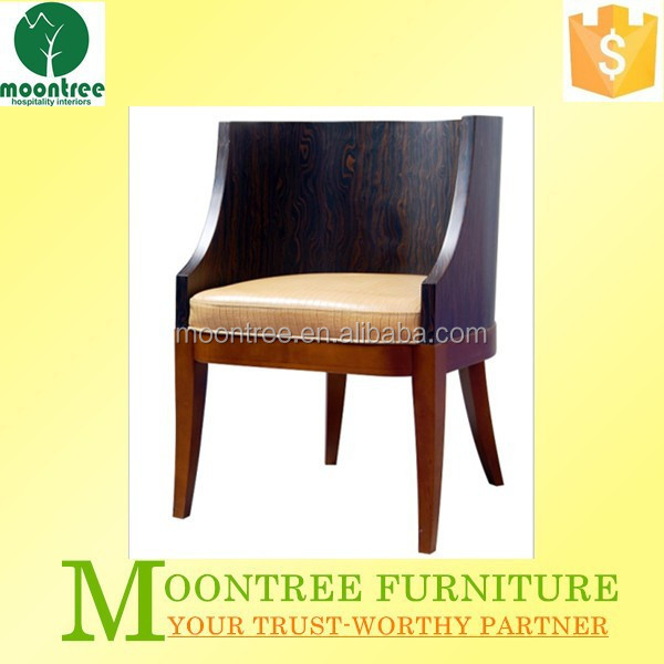 Moontree MEC-1141 High Quality Oak Chair with Leather Seat