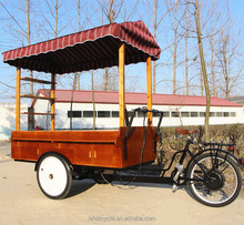 HIH-sls-0007 fast food tricycle/coffee vending cart/coffee bike for sale