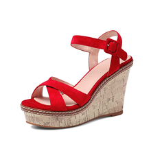Tracyee Large Size Woman Imported Dress Sandals Sex Girl Indian Sex Photo High Heel Summer Design Sandals 2017