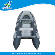 2015 China Factory High Quality Double Tubes Canvas Inflatable Boat