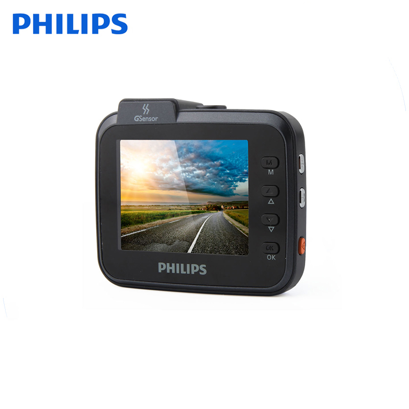 Philips HD Mini Driver Recorder Mini DVR Car Backup Camera with Seamless Loop Recording Rexing Dash Cam