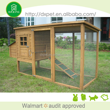 Pet Supplies Wood House Chicken Coop with Egg Crate