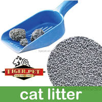 Clumping spherical cativated carbon bentonite cat litter/sand