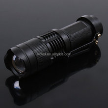 CREE Q5 LED 5W 300 Lumens 3-Mode Adjustable Zoomable Mini LED Flashlight Torch