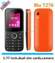 KOMAY 1.8 inches chinese dual sim card gprs mini mobile phone(T276)