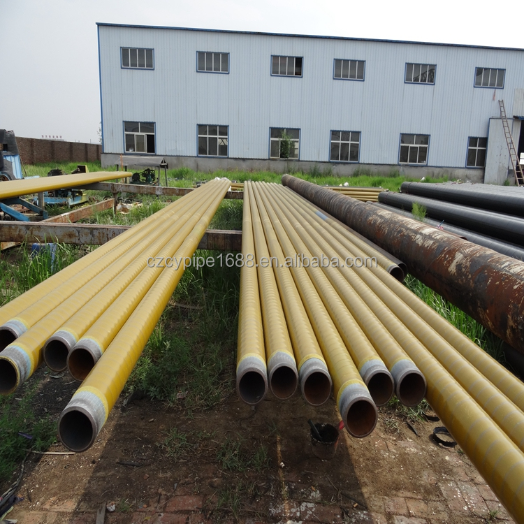 FACO Steel Group api 5l spiral steel pipe flanged 3pe anticorrosion steel pipes low price for sale