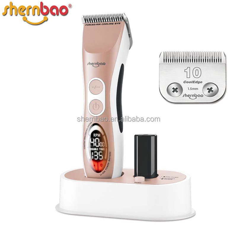 Shernbao CAC-868 pet hair clipper Cat Hair clipper Dog Hair clipper For Pet Groomer & Stylist