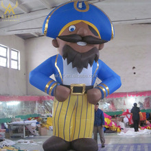 Large inflatable Pirate costume inflatable circus cartoon character for theme party show decoration