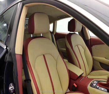 Microfiber PU leather for car seat cover, sofa, upholstery use, 10 years hydrolysis resistance