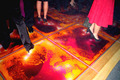 Colorful Liquid Floor Tile Creative Dance Floor for Bar Nightclub Decoration