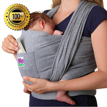 hot sell organic cotton baby sling wrap with your designs