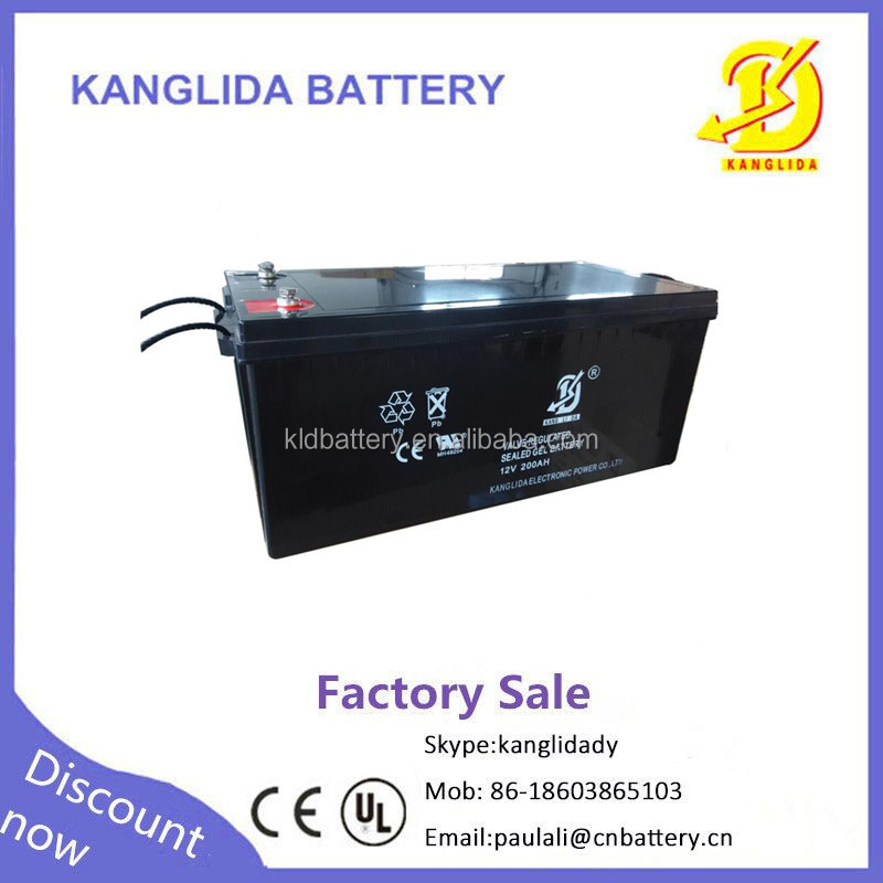 12volt Deep cycle battery,sealed lead acid battery