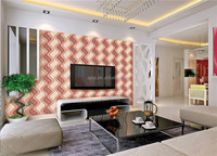 2015 New arrival 3d background PVC Wallpaper / TV Background wallcoverings