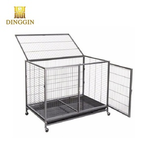 Hollow tube heavy duty dog cage
