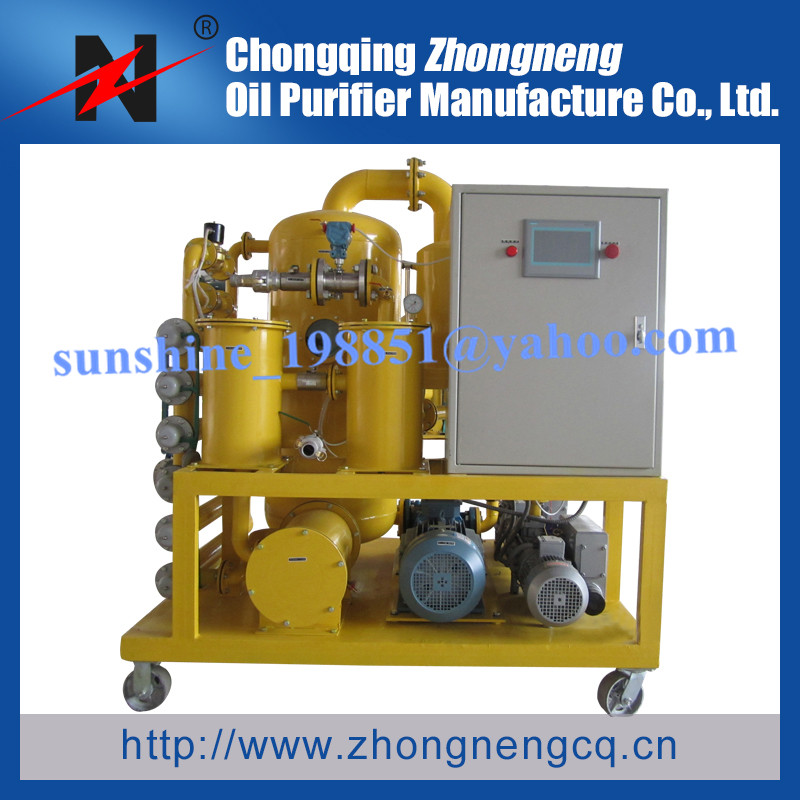Vacuum Used Insulating Oil Purifying Solution/Insultation Oil Filtration Solution