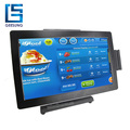 Wide Screen 15.6 Inch Touch Pos Cash Register Android Pos Handware