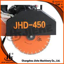 Walk behind asphalt floor road used cutting saw machine concrete cutter(JHD-450K)