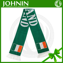 New design fashional good quality ireland country flag scarf
