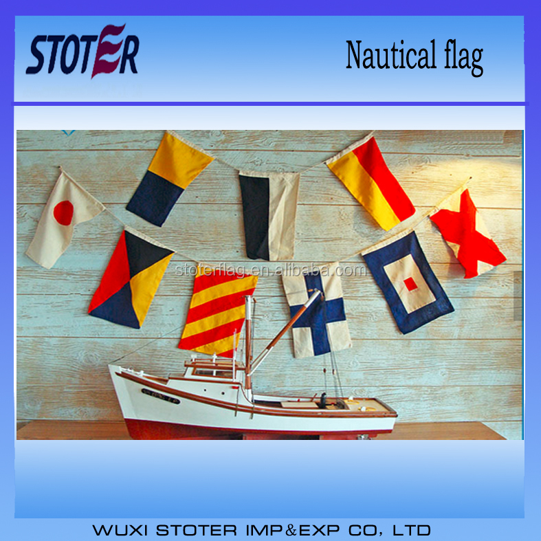 weather resistance customized marine code nautical flag